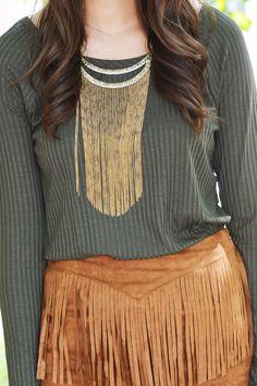 Perfect Addition Necklace on shopBelleBoutique.com #xoxoBelle