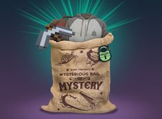 Free domestic shipping on all Mystery Bags at J!NX with code TRICKORTREAT - valid 10/24 - 10/31