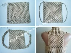 Crochet vest   MY WORLD CRAFT