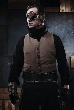 A simpler, probably more practical Steampunk wear.
