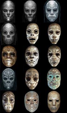 EPBOT Tutorial: DIY Harry Potter Death Eater Mask