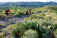 """Big Bend Ranch State Park, next to Big Bend National Park, lies over more than 300,000 acres of remote, rugged Chihuahuan Desert wilderness. One of its biking trails was designated an """"Epic"""" ride by the International Mountain Biking Association. Truly one of Texas' last wild places."""