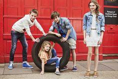 Pepe Jeans Kids, campaña PV 2014   Showroom Stilo