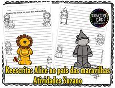 Reescrita: Alice no país das Maravilhas - Atividades Adriana