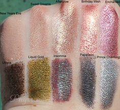 Makeup Geek Cruelty Free Loose Eyeshadow Pigments Review and Swatches