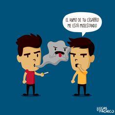 Ilustraciones de buen humor de Llegas Pacheco