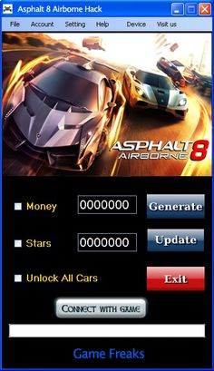 ThisAsphalt 8 Hackwill help you generate unlimitedMoneyandStars