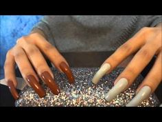 ASMR :: Scratching With My Long Natural Nails