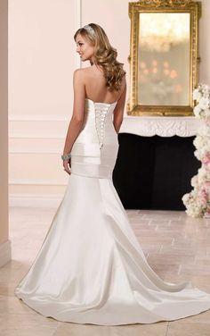 6145 Designer Modern Wedding Dress by Stella York