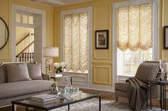 Interior Masterpieces® Austrian Roman Shades | Lafayette Interior Fashions