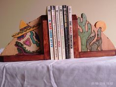 A personal favorite from my Etsy shop https://www.etsy.com/listing/279160242/handmade-wooden-bookend-of-a-scene-from