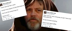 Twitter parody account Very Lonely Luke gives voice to the silent Jedi
