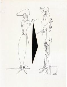 Yves Tanguy - 1953 - Couple Yves Tanguy, Peggy Guggenheim, Favorite Words, Senior Year, Wonderful Things, Painters, Painting & Drawing, Surrealism, Sage