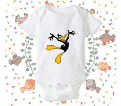 Daffy Duck Looney Tunes onesie Daffy Duck Looney by CetarTata