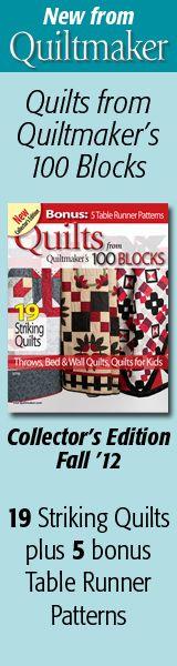 Free Quilt Patterns!