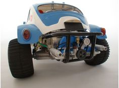Scale engine replica for tamiya sand scorcher and  by snavon