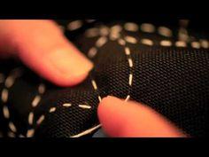 ▶ lazy monk メッセンジャーバッグ 刺し子の風景 - YouTube