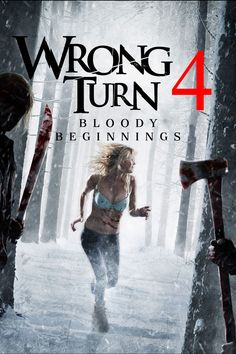 Wrong Turn Bloody Beginnings - 2011 Free Hd Movies Online, Hd Movies Download, Movies To Watch Online, Movie Downloads, Movies Free, Best Horror Movies, Scary Movies, American Horror Movie, Hollywood Action Movies