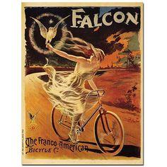 """18x24 /""""Fernand Clement/"""" 1897 Art Nouveau Vintage Bicycle Poster"""