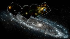 """Andromeda Galaxy Scanned with High-Energy X-ray Vision ☼  NASA's Nuclear Spectroscopic Telescope Array, or NuSTAR, has captured the best high-energy X-ray view yet of a portion of our nearest large, neighboring galaxy, Andromeda. The space mission has observed 40 """"X-ray binaries"""" -- intense sources of X-rays comprised of a black hole or neutron star that feeds off a stellar companion."""