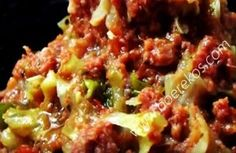 """My """"Spur style"""" Uieringe Iron Skillet Recipes, Skillet Meals, Beef Recipes, Cooking Recipes, Recipies, South African Recipes, Ethnic Recipes, Biltong, Light Recipes"""