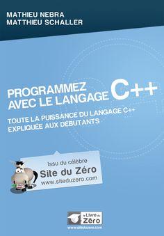 1ere de couverture du livre sur C++