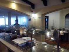 Protección de buffet de acero inoxidable y cristal. Tenerife