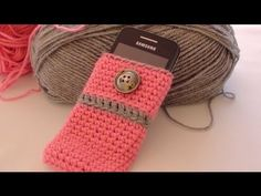 Crochet Cell Phone Case by Crochet Hooks You