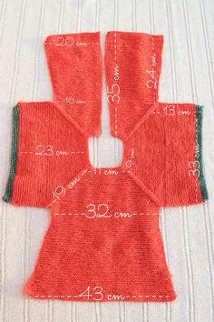 Crochet bebe patrones spanish tejidos Ideas for 2019 Knitting For Kids, Baby Knitting Patterns, Free Knitting, Doll Clothes Patterns, Clothing Patterns, Pull Bebe, Baby Cardigan, Baby Vest, Knit Cardigan