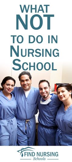 We talk a lot about what you should do in nursing school, but what shouldn't you do. Here are a few things that we think a nursing student should never do.