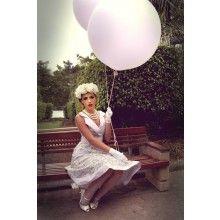 Tea Party Collar Dress (Lavender) - $169.00