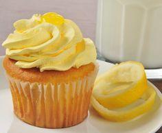Image detail for -Carpe Cupcakes!: Recipe of the Week - Lemon Drop Cupcakes Drunken Cupcakes, Alcoholic Cupcakes, Alcoholic Desserts, Lemon Cupcakes, Vodka Cupcakes, Cupcake Recipes, Cupcake Cakes, Dessert Recipes, Cup Cakes