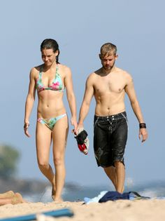 Evangeline Lilly & Dominic Monaghan