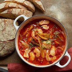 Seafood, Chorizo, and Vegetable Stew