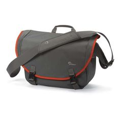 Flipkart – Buy Lowepro Passport Messenger Camera Bag (Grey & Orange) at Rs 999 only