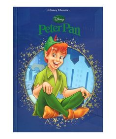 Another great find on #zulily! Disney Classics Peter Pan Hardcover #zulilyfinds