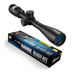 ﹩296.95. Nikon P-308 Range Ready Kit (P-308 4-12x40 W P-Series Mount - Windmeter) (16388)1  UPC - 018208163885