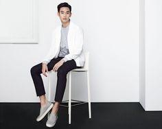 kim soohyun | ZIOZIA 2016 SPRING VISUAL with 김수현