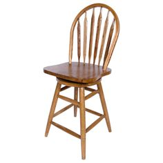 """AW Furniture 30"""" Swivel Bar Stool & Reviews   Wayfair"""