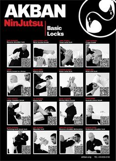 Armlocks - Akban QR Poster 1 by אומנויות לחימה, אקבן - AKBAN, via Flickr