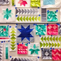 loving these ombre blocks by V and Co
