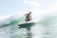 Comrade Salsa [Jasson Salisbury] slicing through some warm Balinese waters... #everydayjourneys