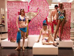 window display for valentines day forever 21