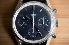 IN-DEPTH: The Very First Heuer Carrera, Explained — HODINKEE - Wristwatch News, Reviews, & Original Stories