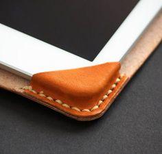 Leather IPad case pattern Leather bag tutorial di NapkittenPattern