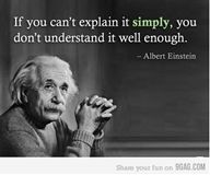 True!!!! Albert Einstein.