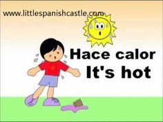 Spanish Vocabulary - El tiempo y el clima /weather
