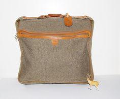 Vintage Hartmann Overnight / Garment Bag by CheekyVintageCloset