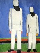 "New artwork for sale! - "" Two Male Figures by Malevich Kazimir "" - http://ift.tt/2EqjiHr"