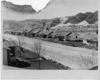 """""""Worker Housing at Grand Coulee Dam"""" Grand Coulee Dam, Mason City, House, Outdoor, Outdoors, Home, Outdoor Games, The Great Outdoors, Homes"""